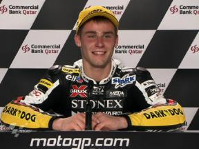 Qatar 2010 Moto2 Race Interview Jules Cluzel