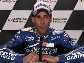 Qatar 2010 Moto2 Race Interview Alex Debon