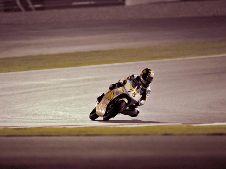 Marcel Schrotter in action in Qatar
