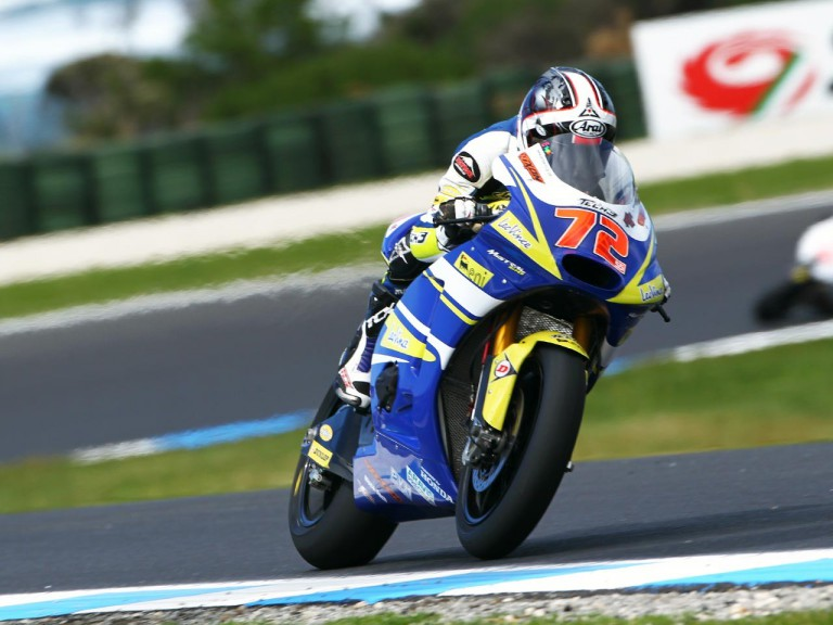 Takahashi in action at Phillip Island