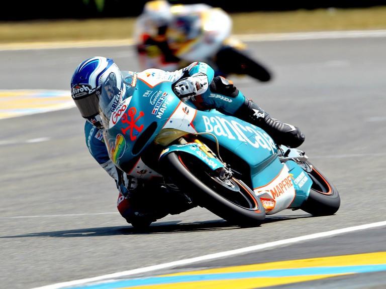 Nico Terol in action in Le Mans