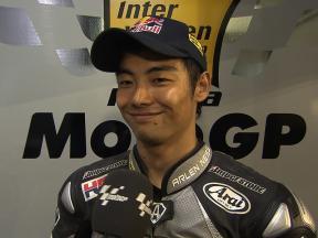 Qatar 2010 - MotoGP - Race - Interview - Aoyama