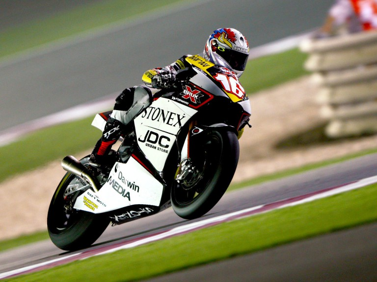 Jules Cluzel in action in Qatar