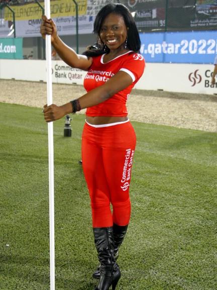 Paddock Girl at the Commercialbank Gran Prix of Qatar