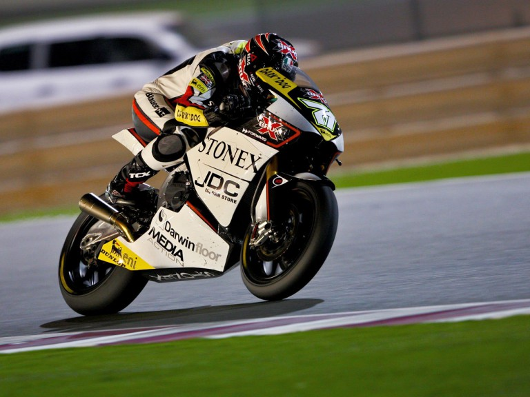 Claudio Corti in action in Qatar