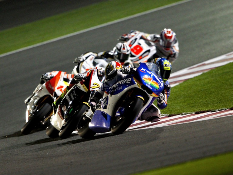 Sergio Gadea in action in Qatar