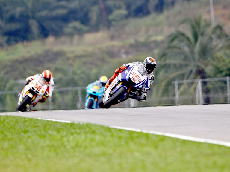MotoGP action at Sepang