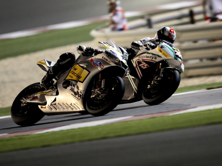 Luthi and Pasini riding head to head in Qatar