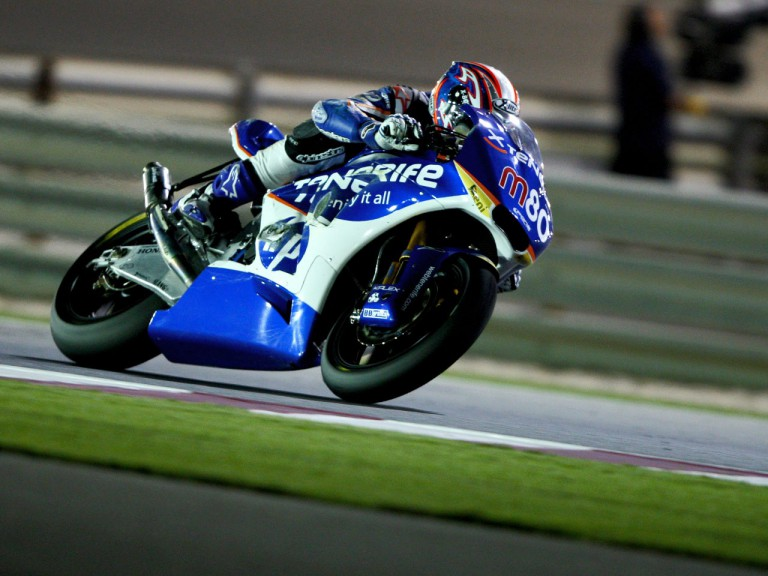 Axel Pons in action in Qatar