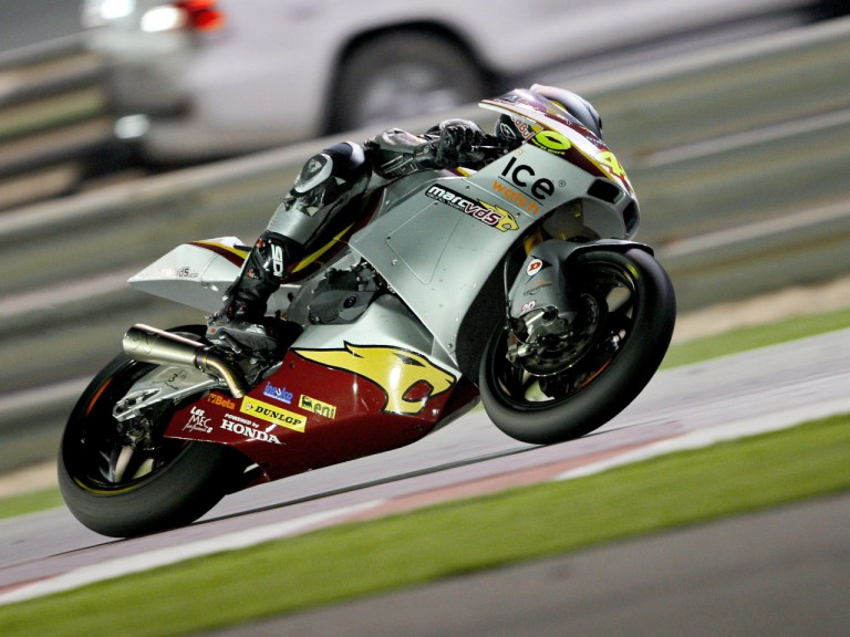 Scott Redding in action in Qatar