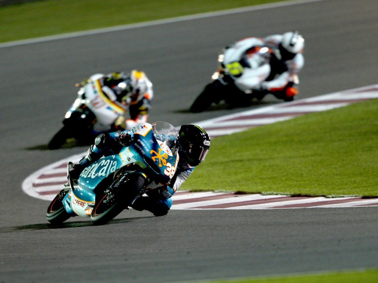 Bradley Smith in action in Qatar
