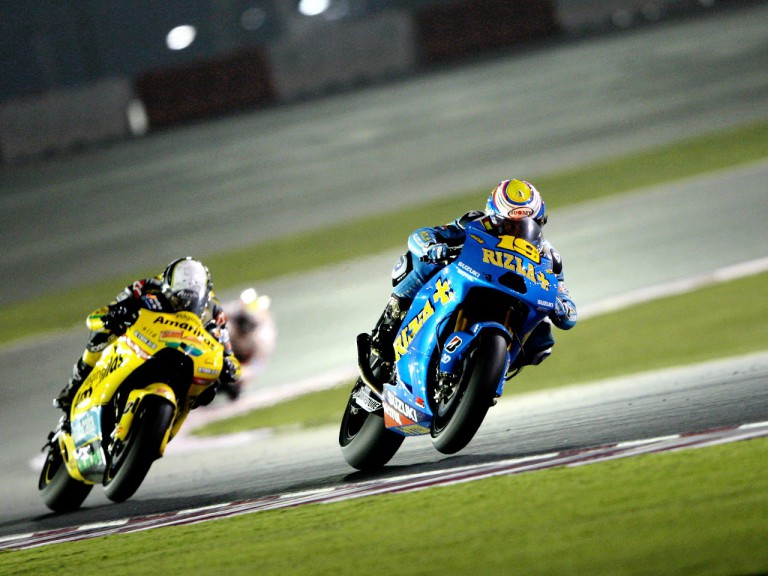 Bautista and Barberá in action in Qatar