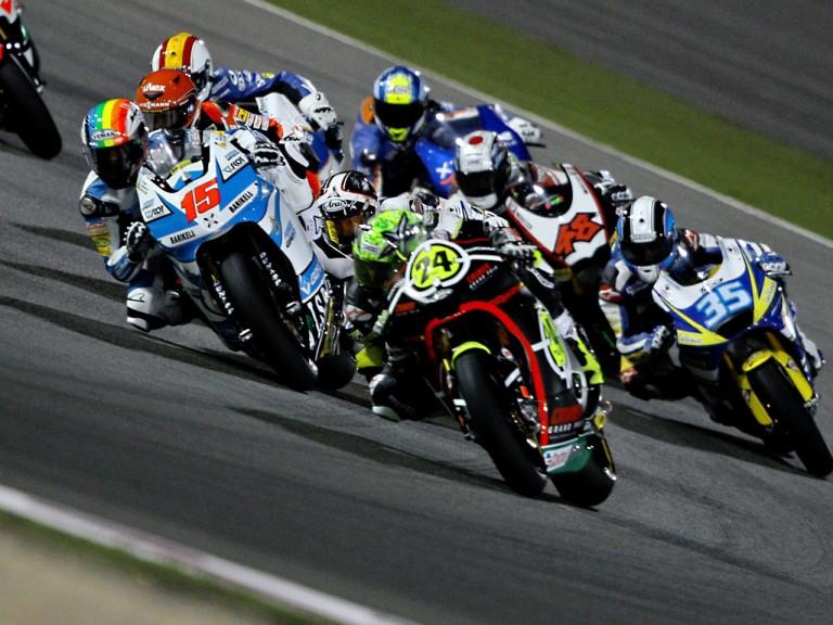 Moto2 Action in Qatar