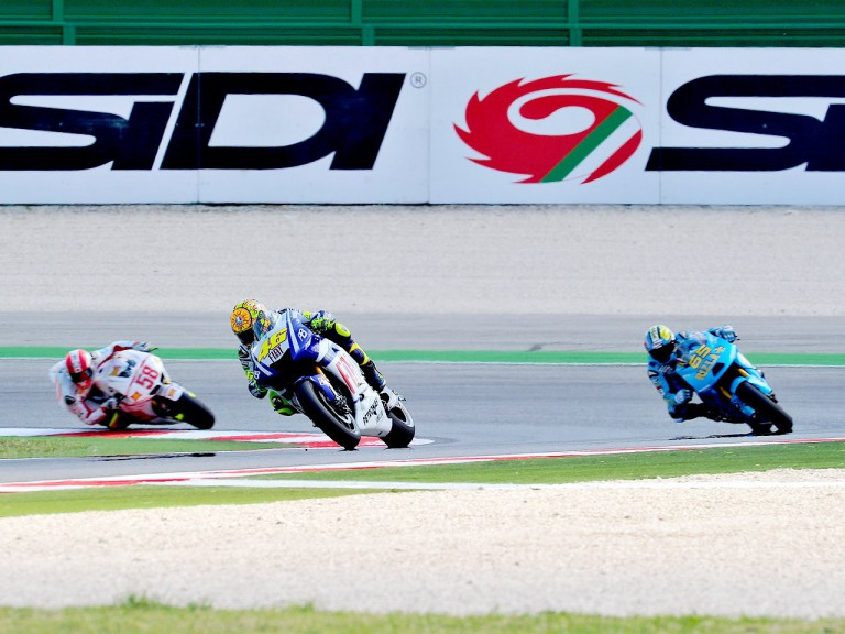 MotoGP action at Misano