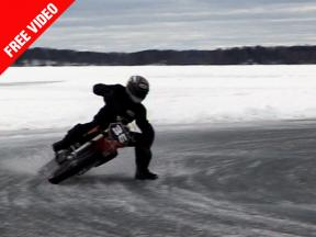 Ice Racing with Pramac Ducati rider Mika Kallio