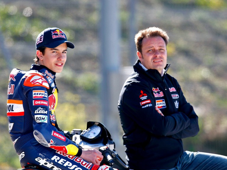 Red Bull Ajo Marc Marquez and Emilio Alzamora