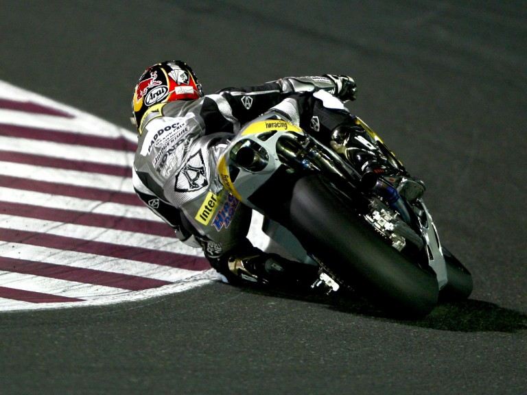 Hiroshi Aoyama in action in Qatar