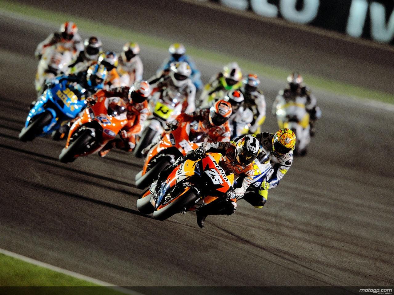 motogp.com · MotoGP Group on track