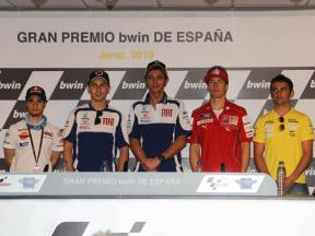 Jerez Pre-event press conference