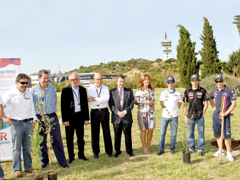 MotoGP, FIM and Circuit authorities and Repsol riders at the MAS Project presentation