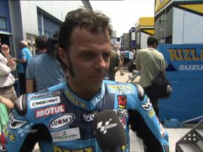 Capirossi praises changes on the Suzuki