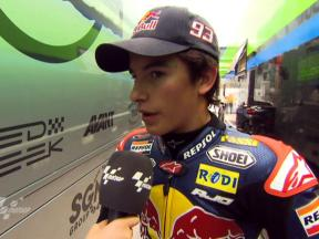 Marquez comfortable after FP1