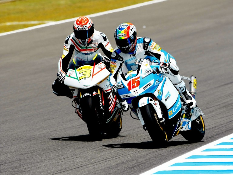 Corsi and De Angelis ina ction in Jerez