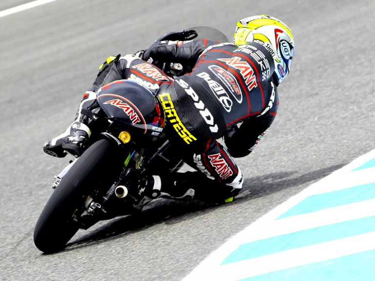 Sandro Cortese in action in Jerez