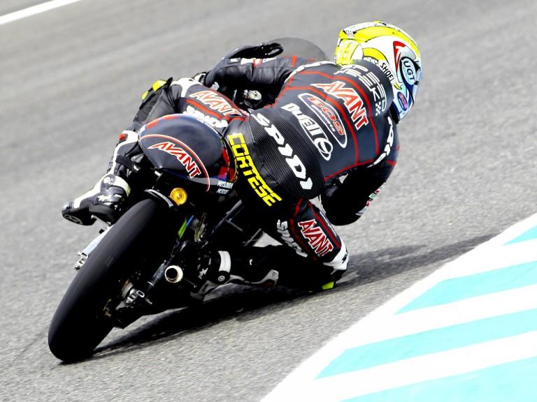 Sandro Cortese in action in Jerez