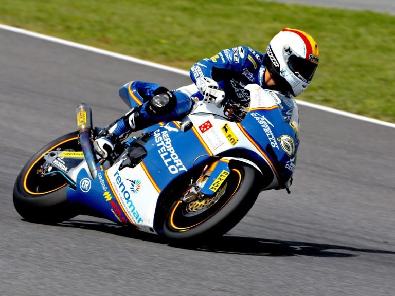 Alex Debon in action in Jerez