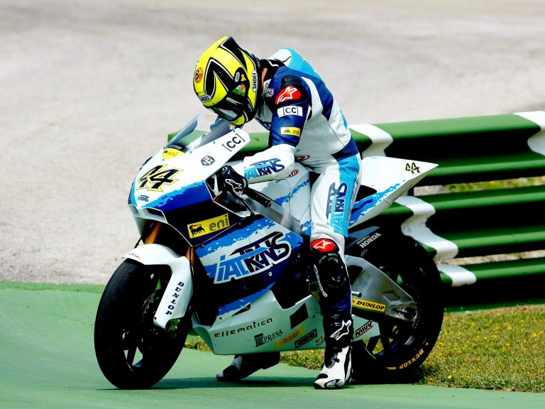 Roberto Rolfo during FP1 in Jerez