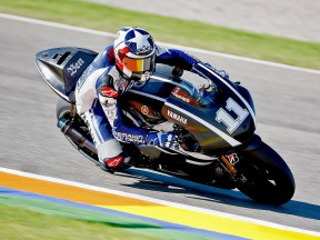 Ben Spies in action at the Valencia test