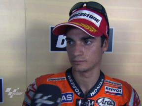 Pedrosa remains focused after securing pole