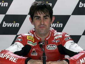 Jerez 2010 Moto2 QP Interview Julian Simon