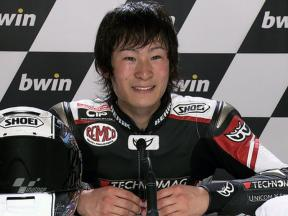 Jerez 2010 Moto2 QP Interview Shoya Tomizawa
