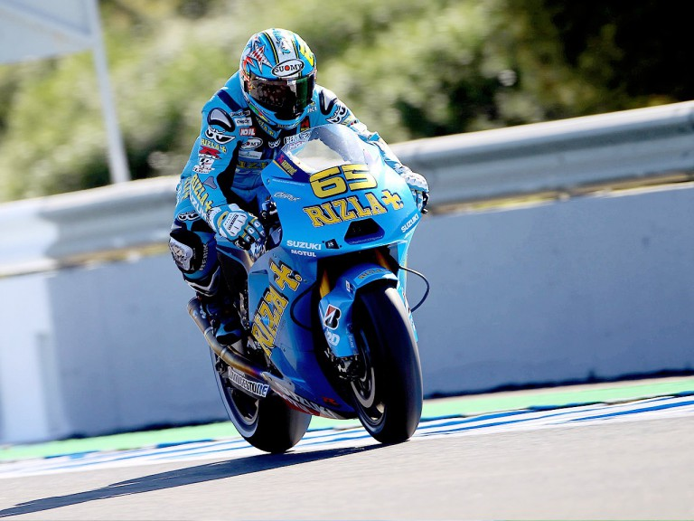 Loris Capirossi during the QP in Jerez