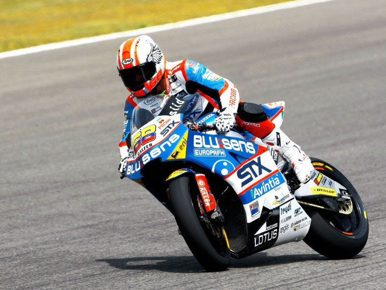 Yonny Hernandez in action in Jerez