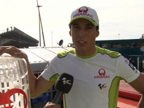 Espargaró explains Pramac´s Green Initiative
