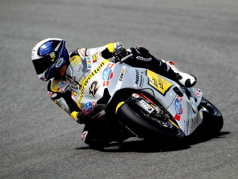 Thomas Luthi on track in Jerez