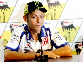 Valentino Rossi at the eni Motorrad GP Deutschland