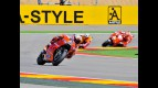Casey Stoner in action at Motorland Aragón
