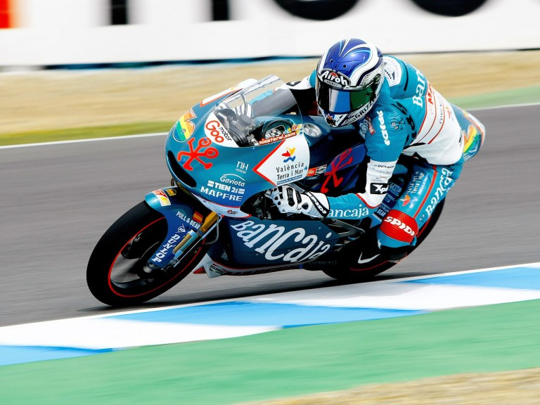 Nico Terol in action in Jerez