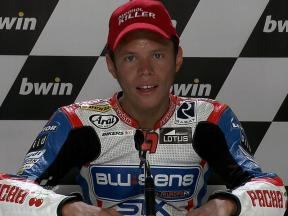 Jerez 2010 125cc Race Interview Esteve Rabat