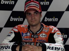 Jerez 2010 MotoGP Race Interview Dani Pedrosa
