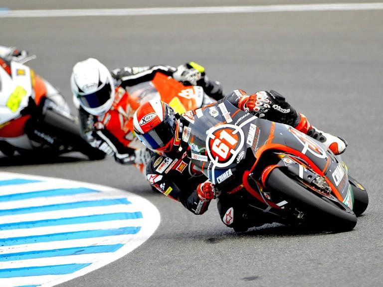 Vladimir Ivanov in action in Jerez