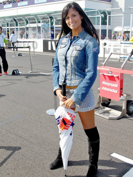Paddock Girl at the Iveco Australian Grand Prix