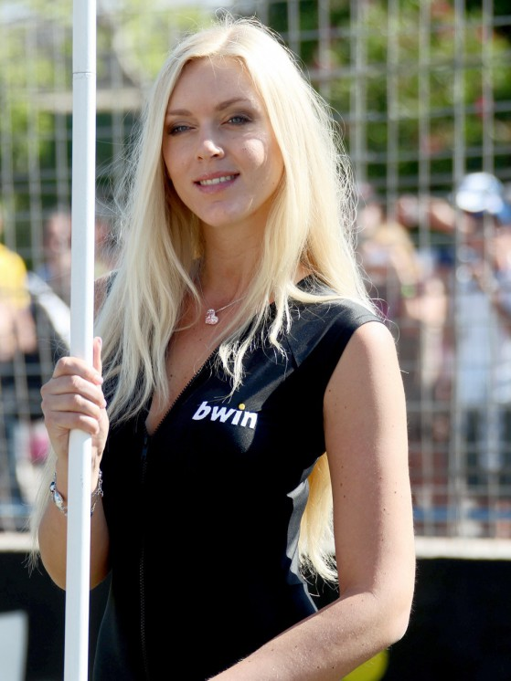 Paddock Girl at the Gran Premio bwin.com de España