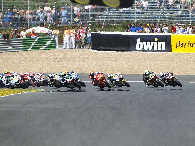 Moto2 Group in action in Jerez
