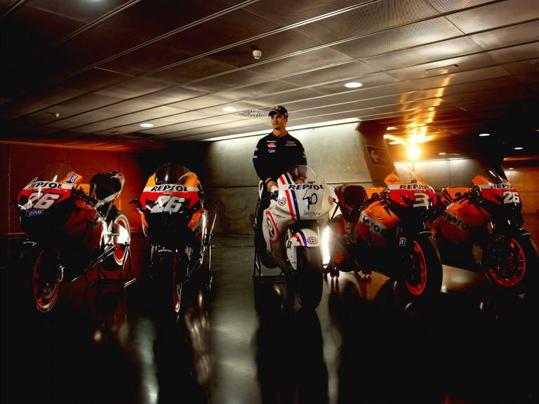 Dani Pedrosa´s five bikes