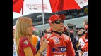 Casey Stoner at the starting grid in Jerez